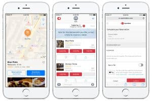 Open table is a phone application that allows consumers to book restaurant tables from the comfort of their own home. Also it allows the consumer to earn free points with every meal purchased. Helping consumers to save money on their future restaurant meals!